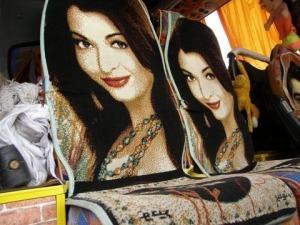 Sitzbezuege im Reisebus Iran
