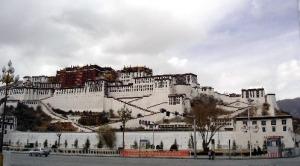 Potala Palast in Tibet, Tibetkonflikt