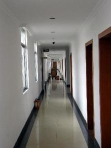 langer Hotelgang