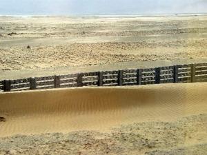 Ausdehnung der Wüste
