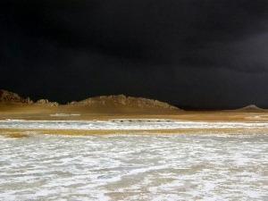 Schlechtwetterfront in Tibet