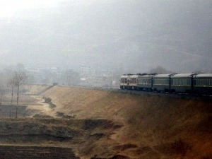 tibetischer Zug