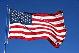 American Flag, Learn English Online