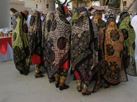 Frauen in Dorftracht Oman