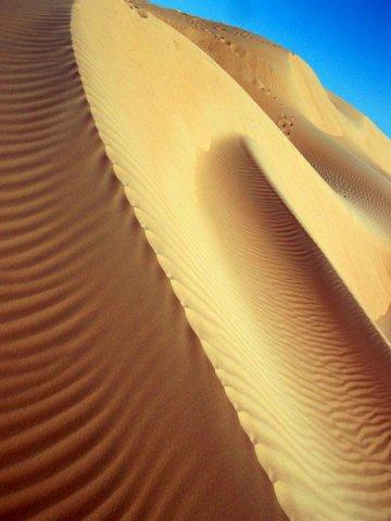 Duenenverwehung, Oman, Zwischen Bikini und Abaya