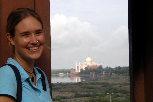 Nina Taj Mahal Indien