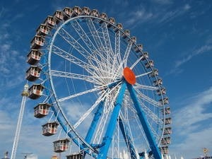 Ferris Wheel, Learn German Online via Skype