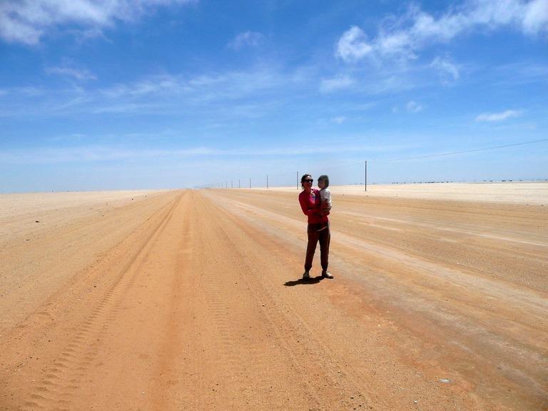 Desert Road Namibia